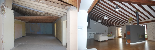 before-after rehabilitacion matarrana teruel
